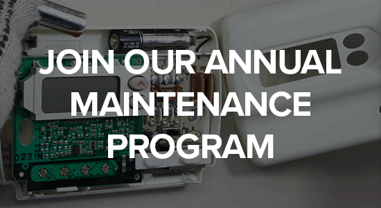 join our annual maintenance program